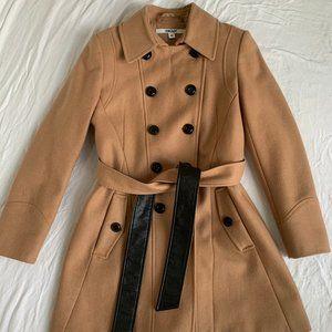 DKNY Wool Trench Coat